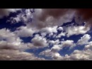 Relaxing TIME LAPSE with amazing Clouds on Deep Blue Sky - Full HD 1080p Video
