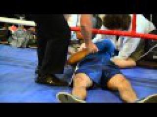 Потрясающий нокаут от спортсмена из Житомира. Измаильчанин Николай Деду на полу ринга