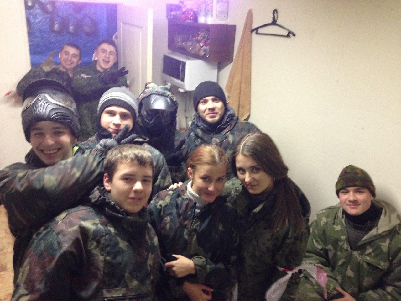 """Афиша Новомосковск Вечерний Пейнтбол в """"Снайпер-69"""" 06.02.2015"""