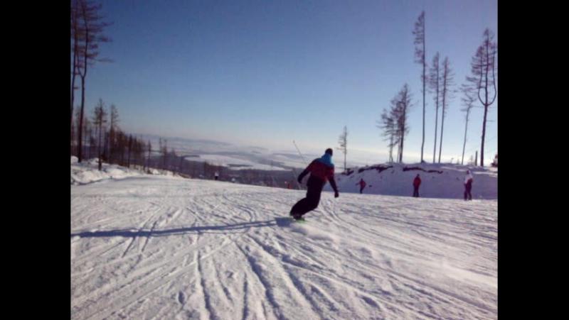 Slalom od Jurka w Tatranska Lomnica