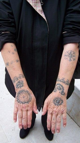 Славянские тату для женщин