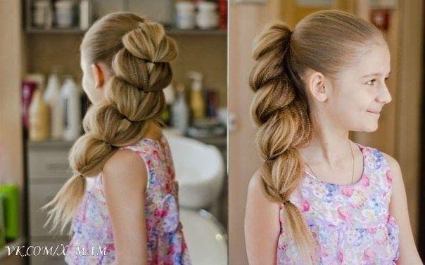 Коса, как у принцессы Жасмин из популярного мультфильма «Аладдин», – прекрасное решение для обладательниц длинных тонких волос 😊🎀 Сохраняйте на стену, чтоб не потерять 😉