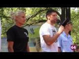 Подполковник МВД и каратистка Приказчикова провела в Саратове зарядку