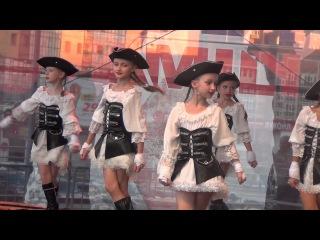 Концерт на день города в ТРЦ Ауре: Пираты