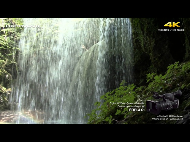 Sample movie for Sony 4K Camcorder FDR-AX1
