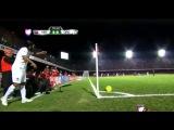 Ronaldinho try to score from corner kick - Veracruz vs Queretaro (LIGA MX 2015) HD