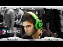 CSGO POV - VeryGames ScreaM vs C3 Gaming @ ESWC 2013 ScreaM.cfg