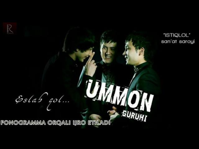 Ummon guruhi - Eslab qol nomli konsert dasturi 2015