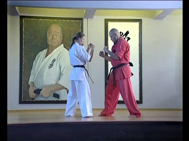12 lessons kyokushinkai Elena Vorobyova