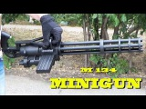 Minigun M134 Toy Gun  игрушечный пулемет Миниган