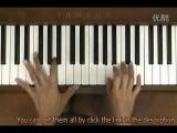 George Winston CANON Piano Tutorial