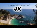 [4K] McWay Falls Relaxation 1 Hour Pure Nature Video - Big Sur, California