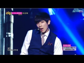 [Comeback Stage] MBLAQ - Be A Man, 엠블랙 - 남자답게, Show Music core 20140405