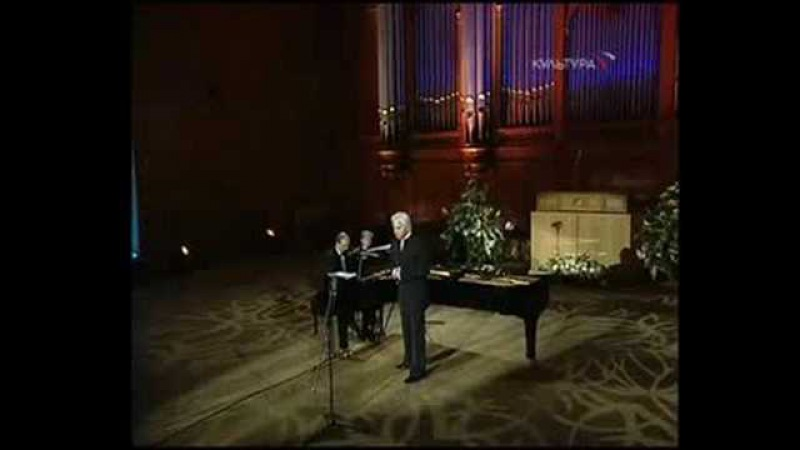 Dmitri Hvorostovsky - A Fragment from A. de Musset by Rachmaninoff