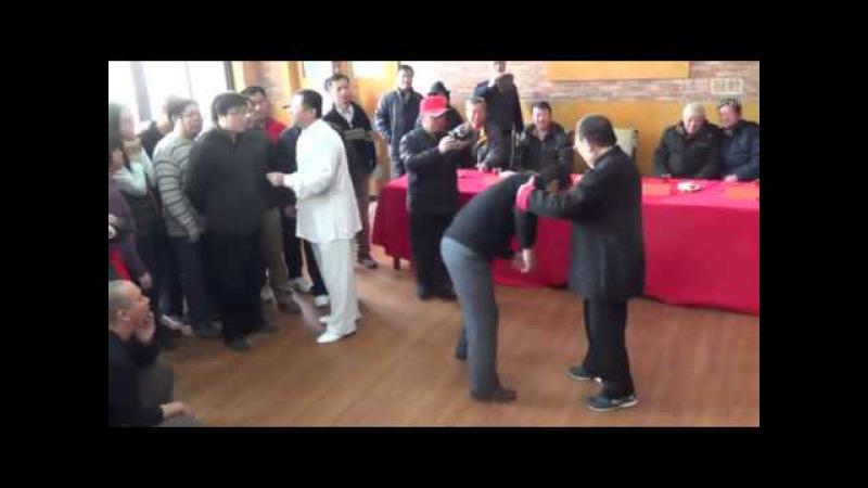Ma Chang Xun 马长勋 give a lecture on push hands