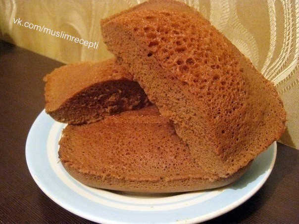 Простой быстрый шоколадный бисквит рецепт