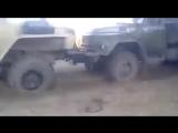 УРАЛ 4320 против ЗИЛ 131, грузовые автомобили состязаются