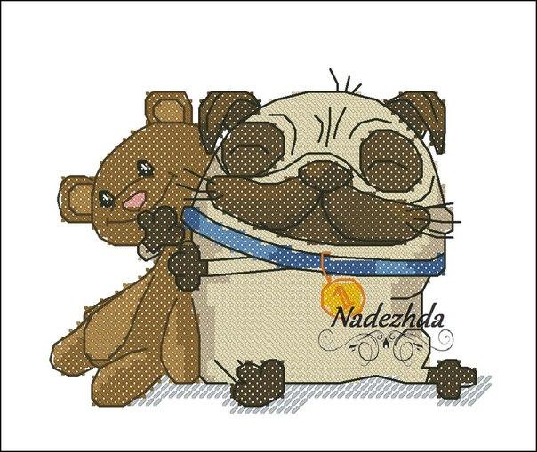 Файл Мопс с мишкой.pdf