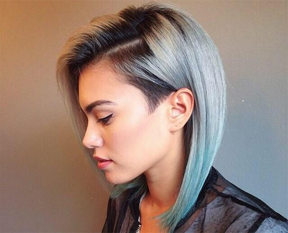 Rainbow hair dye a do it yourself guide start by cutting your hair and giving it the best chance of withstanding bleach and fashion hair dyes a trim will chop off all the split ends and create a solutioingenieria Gallery