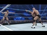 smack-16-04-2015 | Джон Сина и Дэниэл Брайан против Сезаро и Тайсона Кидда.