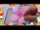 Оригами. Делаем фиолетовый цветок из бумаги. Origami. Making purple flower made of paper.