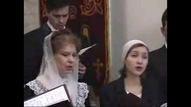 Choir in Moscow, Russia with Lina Mkrtchyan