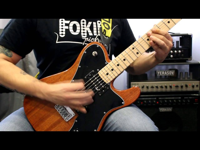 Yerasov Detonator 50 с лампой 6l6 Fokin Pickups demo