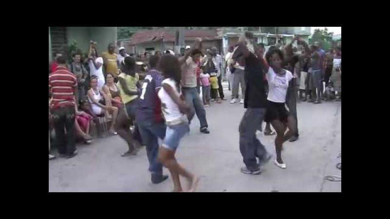 Rueda de casino - Jovenes de Santiago de Cuba