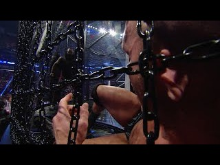 WWE Network: Mark Henry uses his surroundings to inflict pain inside the Elimination Chamber