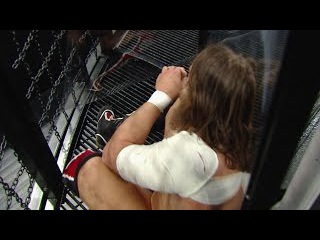 WWE Network: Daniel Bryan and Cesaro feel the brutality of the Elimination Chamber