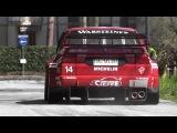 1996 Alfa Romeo 155 V6 Ti EPIC Sound In Action Around A Street Circuit