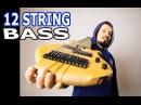 Уличный музыкант Василий Чернов Part Two   12 String Bass   Finger Style