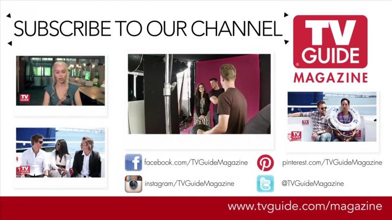 Интервью для журнала «TV Guide» в рамках фестиваля «Комик-Кон». (19.07.2013) 2