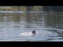 Елена Корикова купается в озере – Барышня-крестьянка (1995)