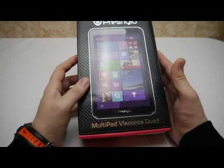 Планшет Prestigio Multipad Visconte Quad. Комплектация и мини обзор.