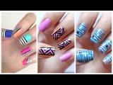 Легкие рисунки на ногтях для новичков)