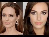 Видео урок макияжа в стиле  Анджелины Джоли