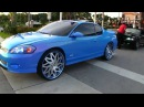"""Outrageous Blue Monte Carlo SS on 26"""" Amani Forged Wheels - 1080p HD"""