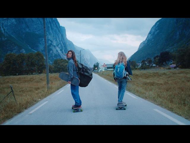 Downhill skateboarding in spectalular landscapes - Ishtar X Tussilago