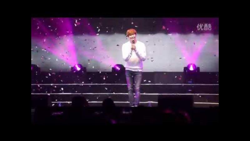 150328[飯拍](1)《@李鍾碩》上海見面會 演唱:@我要全部都給你 @LeeJongSuk #이종석#FanMeeting in Shang