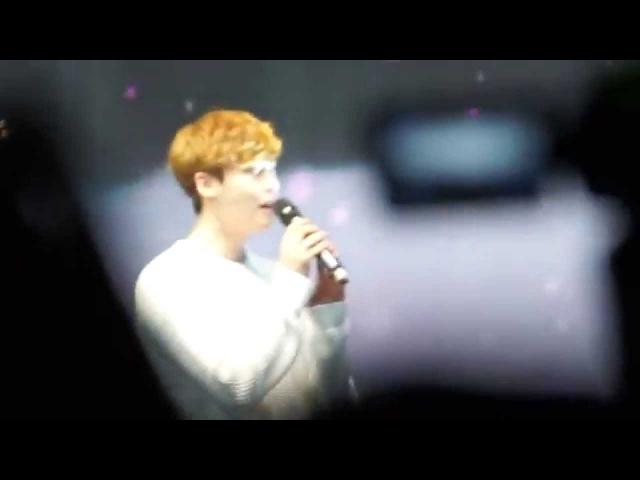 150328[飯拍](2)《@李鍾碩》上海見面會 演唱:@我要全部都給你 @LeeJongSuk #이종석#FanMeeting in Shang