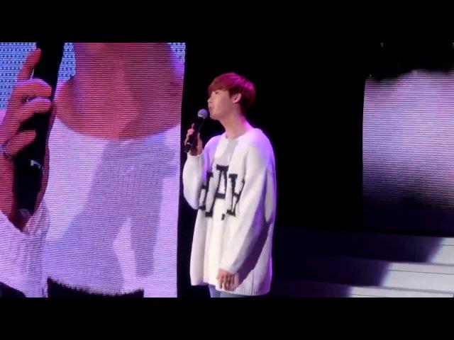 150321[飯拍-1]@李鍾碩 台北見面會 演唱@我要全部都給你 @LeeJongSuk 이종석 FanMeeting In Taipei