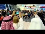 Dance Attack in Dubai International Airport terminal 1