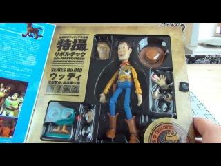 История Игрушек - Вуди - Фигурка   Toy Story: SCI-FI Revoltech WOODY