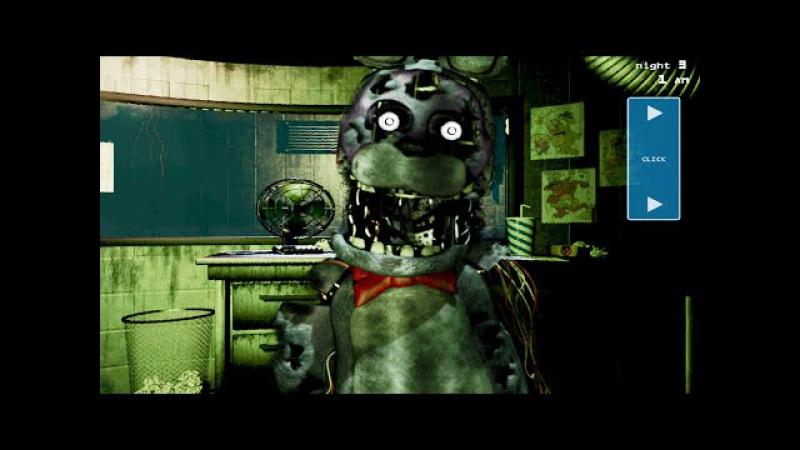FNaF 3: Phantom Bonnie Jump Scare (Edited)