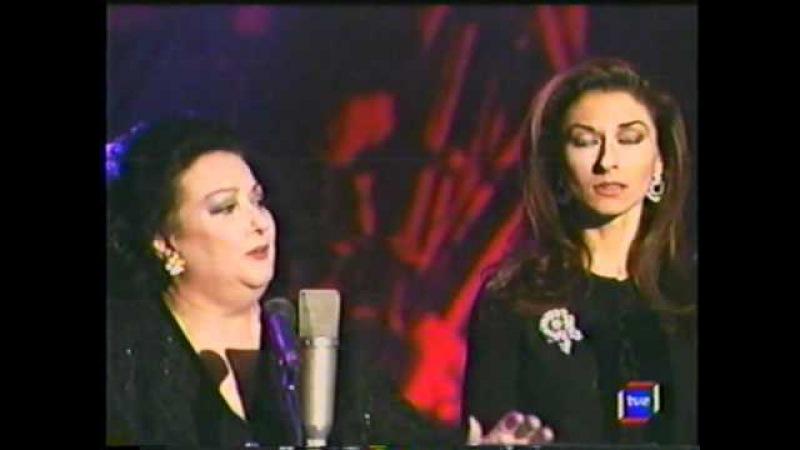 Montserrat Caballé y Montserrat Martí - Duetto Buffo Di Due Gatti