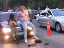 Полный Стриптиз На Гонках - Full Striptease At The Races - ЛУЧШИЙ ПРИКОЛ 2015