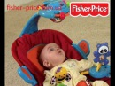 Шезлонг с сенсорным режимом Fisher-price