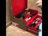 Shoe Box Christian Louboutin Dourado - M2M Design