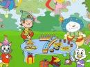 С днем рождения! Песня для именинника. Английский для детей. Учим детские стихи и песни